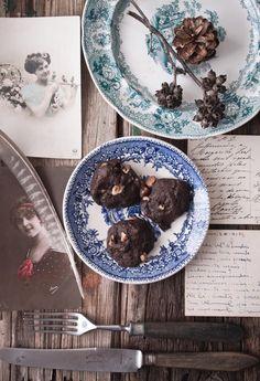 Carob Cookies   Photography and Styling by Sanda Vuckovic Pagaimo