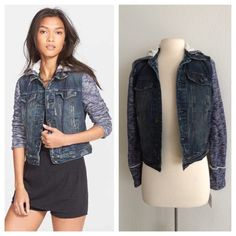 COMING SOON! Free People distressed denim jacket COMING SOON! Free People distressed denim jacket  NEW WITH TAGS! this item has not been priced yet. I will put up the price once I complete the listing Free People Jackets & Coats