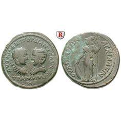 Römische Provinzialprägungen, Thrakien, Anchialos, Gordianus III., Bronze 238-244, ss+: Thrakien, Anchialos. Bronze 29 mm 238-244.… #coins