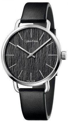 cff19642206 Women s Calvin Klein Even Leather Watch K7B211C1