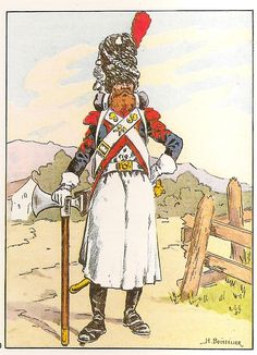 French; 30th Line Infantry. Sapper, 1810