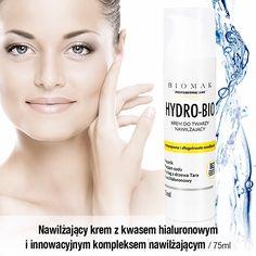 HYDRO-BIO - Krem nawilżający z kwasem hialuronowym Intj, Vodka Bottle