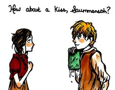 If a boy jumped in freezing cold water to save one of my books, I would see him as a knight in shining armor:)