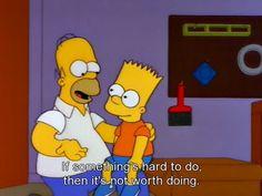 Sabiduría de Homero Simpson.