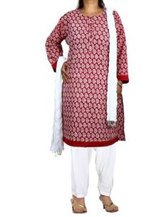 Red Kameez White Salwar Dupatta Indian Outfits for Women Size XXL ShalinIndia,http://www.amazon.com/dp/B00DXZIAYC/ref=cm_sw_r_pi_dp_BEeHtb0A4MCT6235