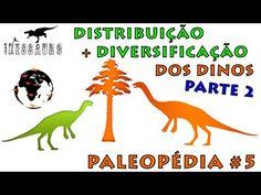 Paleopédia #5: A Distribuição e Diversificação dos Dinossauros - Parte 2