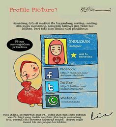 Profile picture in Islam