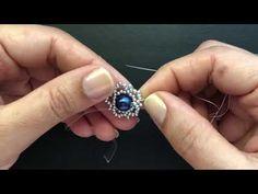 How to make beaded earrings. Seed Bead Jewelry Tutorials, Diy Jewelry Videos, Beading Tutorials, Beading Patterns, Jewelry Crafts, Bead Jewellery, Beaded Jewelry, Diy Jewelry Inspiration, Earring Tutorial