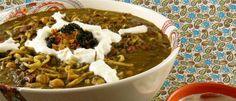 Ashe Reshte Persian lentil stew