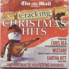 CRACKING CHRISTMAS HITS - PROMO CD (2016) JONA LEWIE, WIZZARD, EARTHA KITT ETC #Christmas