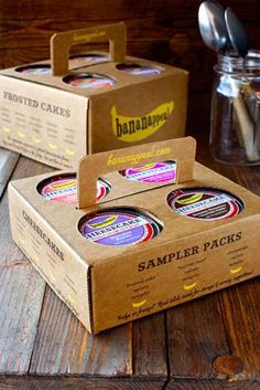 Mason Jar Cakes  The Bananappeal Desserts are Poshly Packaged and Flawlessly Frosted