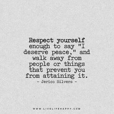Respect yourself...took me almost a decade to learn this and walk away