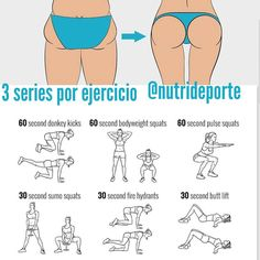 exercise, fitness, and workout image Health And Fitness, Fitness Workout For Women, Fitness Workouts, Easy Workouts, Treadmill Workouts, At Home Workout Plan, At Home Workouts, Exercices Swiss Ball, Wöchentliches Training