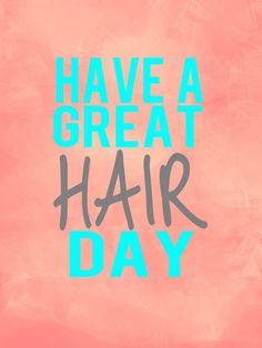 Have a Great Hair Day ,sugah! #njcurlfriends
