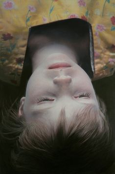 Gottfried Helnwein's art is amazing and disturbing. His paintings look like photos. Stunning.