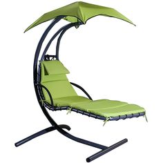New Product For Promotion Merax Large 6 Point Umbrella Dream Chair Chaise Lounge Slight Shake Like