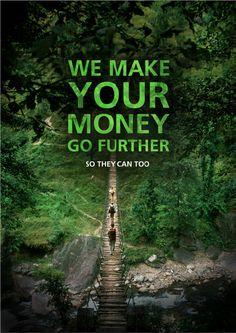 Money go further bridge