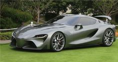 2015 Toyota FT-1 Graphite Concept Fulfills Your Sports Driving Desire