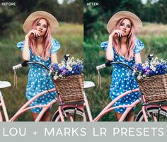 These Lightroom Presets were all hand designed specifically for more modern photoshoots. They have rich tones, amazing saturation, stunning highlights, perfect contrast and just the right amount of softness and/or grain.