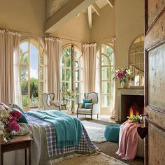 beautiful chic #bedroom | #feminine decor