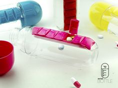 Pill Organizer Bottle (Suspended) by Arie Pisarevsky — Kickstarter