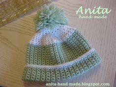 Fine Wool accessories for children and babies :)  Cappellino in lana in 100% lana merino fine, da maschietto :)
