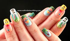 easter nail art THE MOST POPULAR NAILS AND POLISH #nails #polish #Manicure #stylish