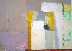 Sydney Licht, Still Life with White Box  2011, Oil on panel