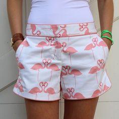 Elizabeth McKay Pink Flamingo Hayden Short.