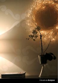 i n a n a : Loiste-kranssin ohje Wreaths, Lighting, Mini, Christmas, Inspiration, Home Decor, Winter, Ideas, Navidad