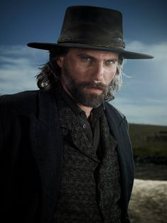 Anson Mount - starring in Hell on Wheels. The problem with adding gorgeous guys to this Board is picking my favorites photos. I'm starting with this one for Anson Mount because before Hell on Wheels, I'd not heard of him