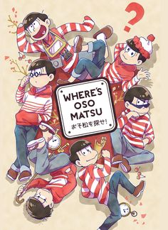 Easy mode Osomatsu-san x The Wallyverse