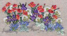 WILD POPPIES embroidery kit. Via canevasfollies.ch