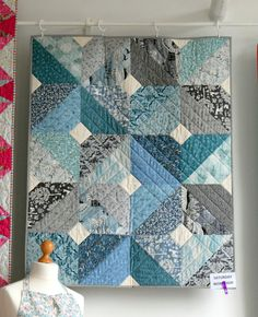 Spring into Summer Part 4 - Just Jude Designs - Quilting, Patchwork & Sewing patterns and classes Boy Quilts, Scrappy Quilts, Mini Quilts, Patchwork Quilting, Quilting For Beginners, Sewing Projects For Beginners, Modern Quilting Designs, Quilt Modern, Layer Cake Quilts