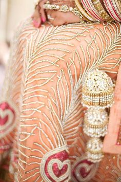 love the traditional Punjabi bridal bangles!