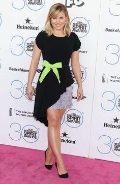 Kristen Bell in Andrew Gn Resort 2015