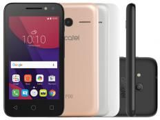 Smartphone Alcatel PIXI4 4 Metallic 8GB Dual Chip - 3G Câm. 8MP + Selfie 5MP…