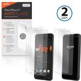 BoxWave Amazon Fire Phone ClearTouch Anti-Glare Screen Protector (2-Pack) - Premium Quality Amazon Fire Phone Anti-Glare, Anti-Fingerprint Matte Film Skin to Shield Against Scratches (Includes Lint Free Cleaning Cloth and Applicator Card) Reviews - http://www.knockoffrate.com/cell-phones-accessories/boxwave-amazon-fire-phone-cleartouch-anti-glare-screen-protector-2-pack-premium-quality-amazon-fire-phone-anti-glare-anti-fingerprint-matte-film-skin-to-shield-against-scratches-i