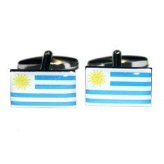 Manchetknopen Uruguayaanse Vlag