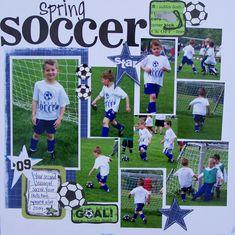 Spring Soccer star - Scrapbook.com