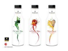 Tencha Ice Tea on Packaging of the World - Creative Package Design Gallery