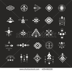 Esoteric, Alchemy, boho, bohemian sacred geometry, tribal and Aztec, sacred geometry, mystic shapes, symbols