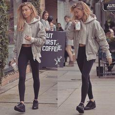 ✖Favourite Street Style Looks Of Hailey Baldwin✖ Hailey liked x5