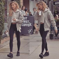 ✖Favourite Street Style Looks Of Hailey Baldwin✖ Hailey liked x5