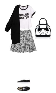"""""""Basic just won't do"""" by blueeyed-dreamer ❤ liked on Polyvore featuring Abercrombie & Fitch, Vans and H&M"""
