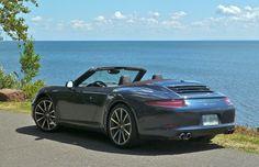Porsche 911 (991) Convertible Dark Blue