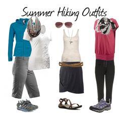 Summer Hiking Outfits by edintoedin on Polyvore edintoedin.wordpress.com