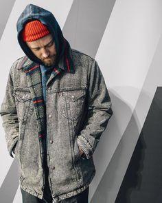Лучших изображений доски «Куртки»  315   Man fashion, Denim jeans и ... aa74f7c95ba
