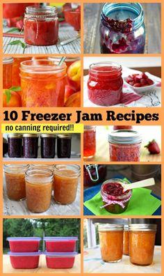 10 Freezer Jam Recipes