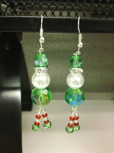 e7481acc7638 How to make crystal tree earrings – or any type of earring with wrapped  loops (source) Jewelry Making – Holiday Glitz Christmas Charm Bracelet  Holiday Glitz ...